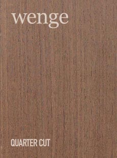 WENGE QUARTER CUT